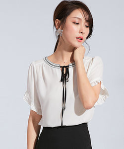 Heather Chiffon Top (Non-Returnable)