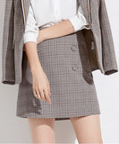 Anneliese Checked Skirt