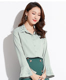 Alexia Embroidery Shirt Top (Non-Returnable)