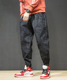 Machel Drawstring Camo Harem Pants (Non-Returnable)