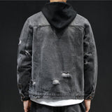 Dean Hooded Denim Jacket