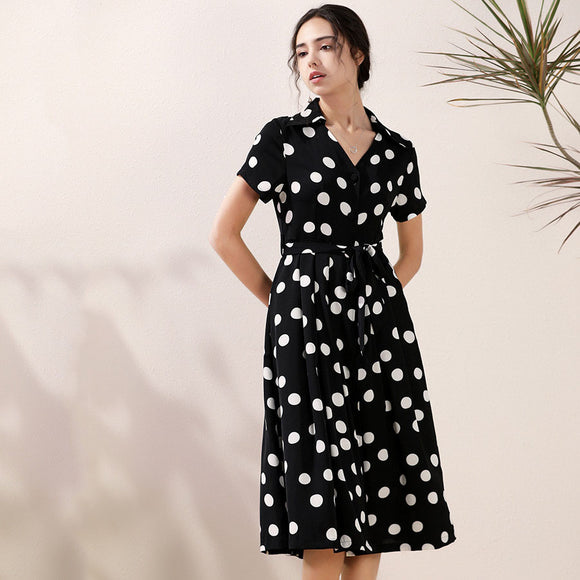 Katelyn Polka Dot Dress