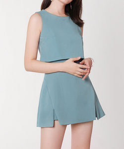 Elyse Sleeveless One Piece Dress (Non-Returnable)