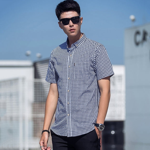 Abel Checkered Short Sleeve Shirt