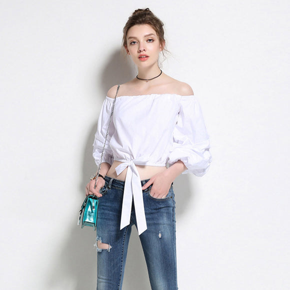 Mckayla Off Shoulder Top (Non-Returnable)