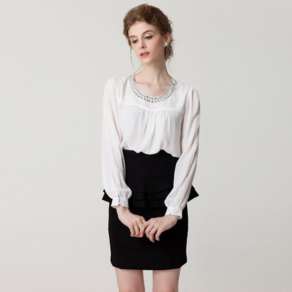 Poppy Chiffon Top (Non-Returnable)