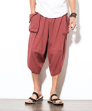 Alfred Drawstring Linen Pants (Non-Returnable)