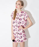 Barcelona Printed Dress (Non-Returnable)
