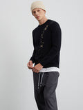 Lazarus Embroidery Sweatshirt (Non-Returnable)