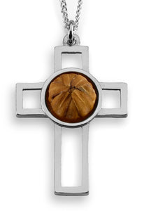 """My Strength"" Sterling Cross"