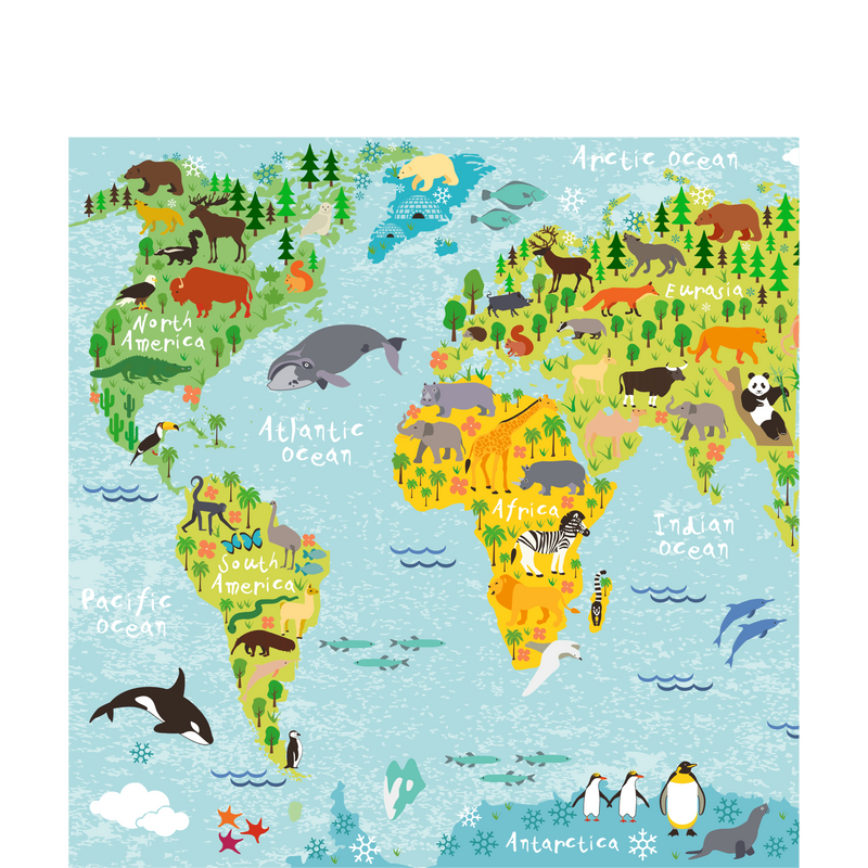 World map square picture 3030 cm sketch your line picture world map square picture 3030 cm gumiabroncs Choice Image