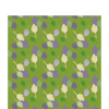Placemat - Leaves Pattern Square Placemat (30/30 Cm.)