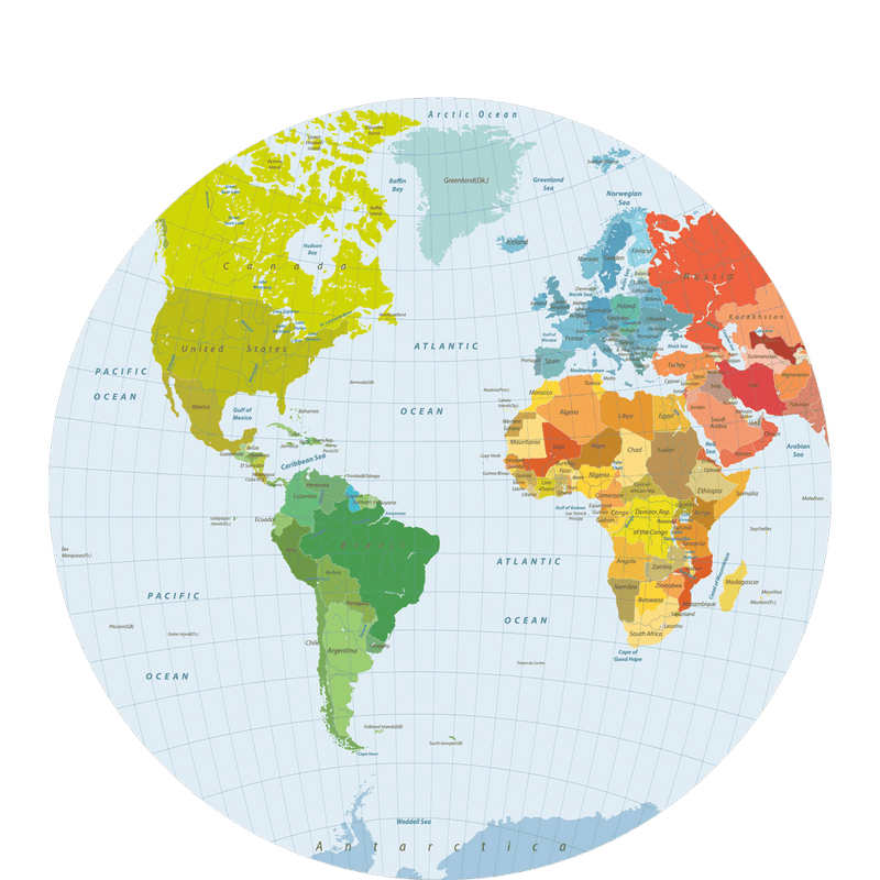 Polypropylyn world map round placemat d 2 sketch your line polypropylyn world map round placemat d 2 gumiabroncs Image collections