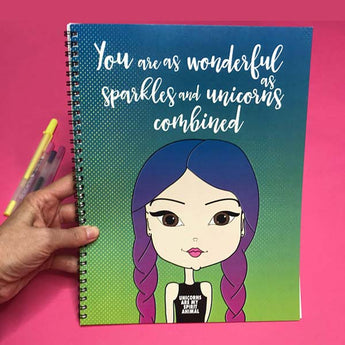 Unicorns Are My Spirit Animal Undated Planner