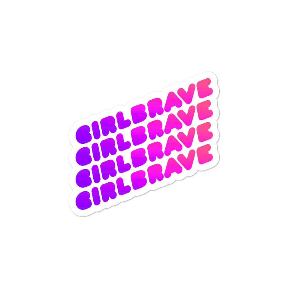 GIRLBRAVE Stickers
