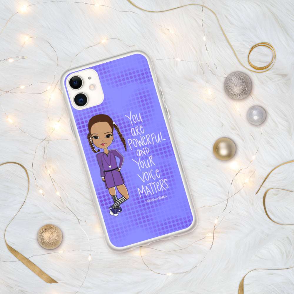 Kamala Harris Quote iPhone Case