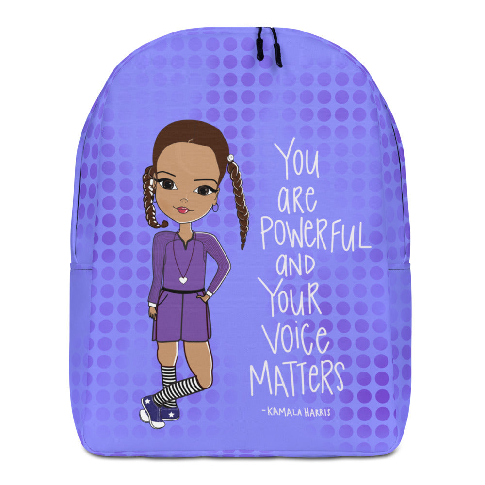Kamala Harris Quote Backpack