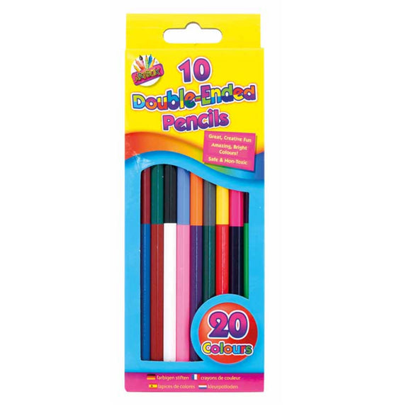 10 Double Ended Colouring Pencils