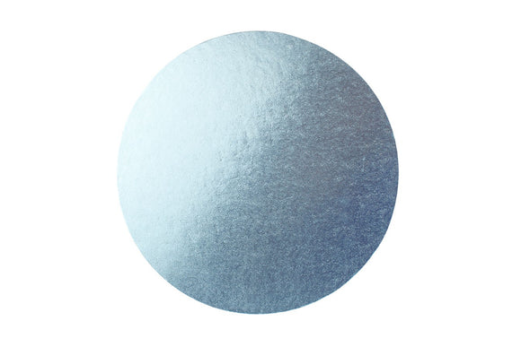 Round Cake board Pale Blue 14 Inch Drum