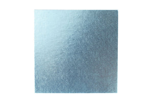 Square Cake board Pale Blue 14 Inch Drum