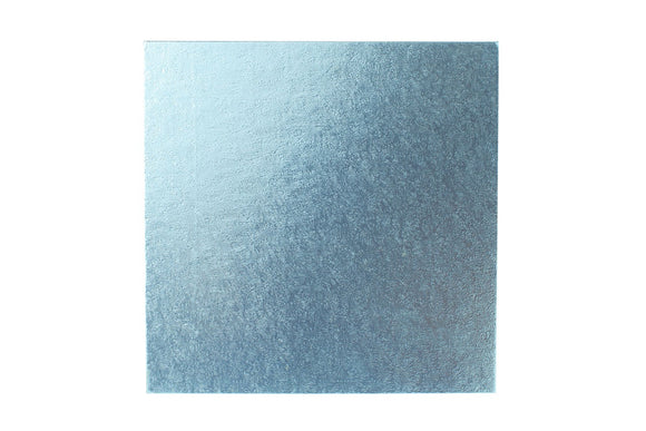 Square Cake board Pale Blue 8 Inch Drum