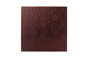 Square Cake board Brown 8 Inch Drum