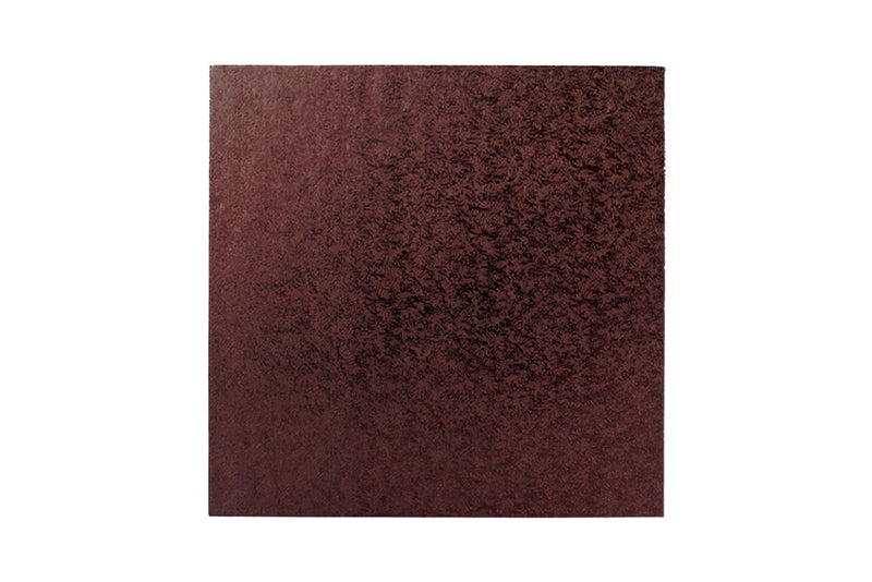 Square Cake board Brown 12 Inch Drum