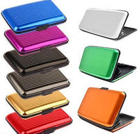 Aluminium Metal Pocket Business ID Credit Card Wallet Holder Case  - Things4craft.co.uk - 13