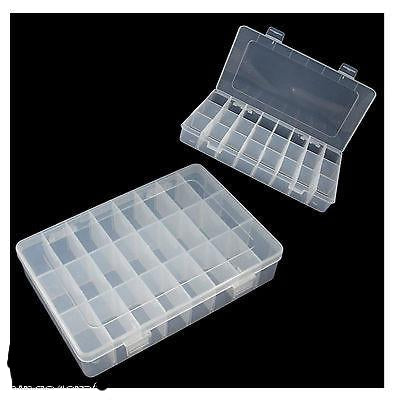 Plastic Storage Container - Ideal for beads craft and small parts storage - Things4craft.co.uk - 1