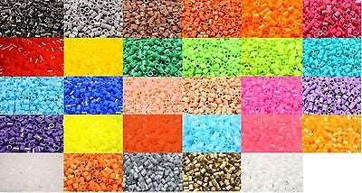 Perles 5mm Sachet Puzzle Couleur Pure à repasser pyssla nabbi DIY Jeux Enfant - Things4craft.co.uk