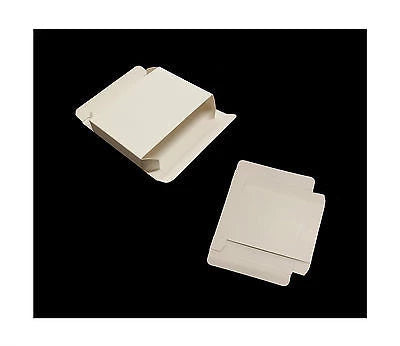 PIP Jewellery Postal Boxes - Small White Boxes 60 x 85 x15 mm Pack of 50 - Things4craft.co.uk