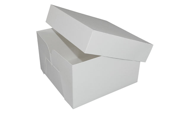 Cake Box - Standard - 12 inch Square - 50 Boxes