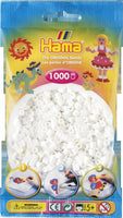 White Hama Beads - 207-01 - 1000 Per Bag (Approx)