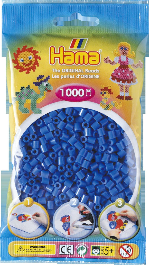 Light Blue Hama Beads - 207-09 - 1000 Per Bag (Approx)
