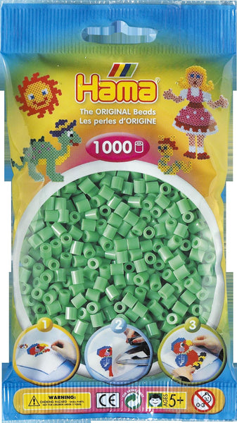 Light Green Hama Beads - 207-11 - 1000 Per Bag (Approx)