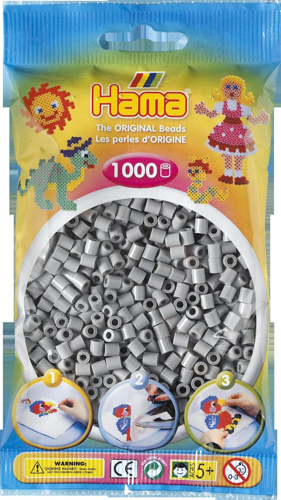 Grey Hama Beads - 207-17 - 1000 Per Bag (Approx)