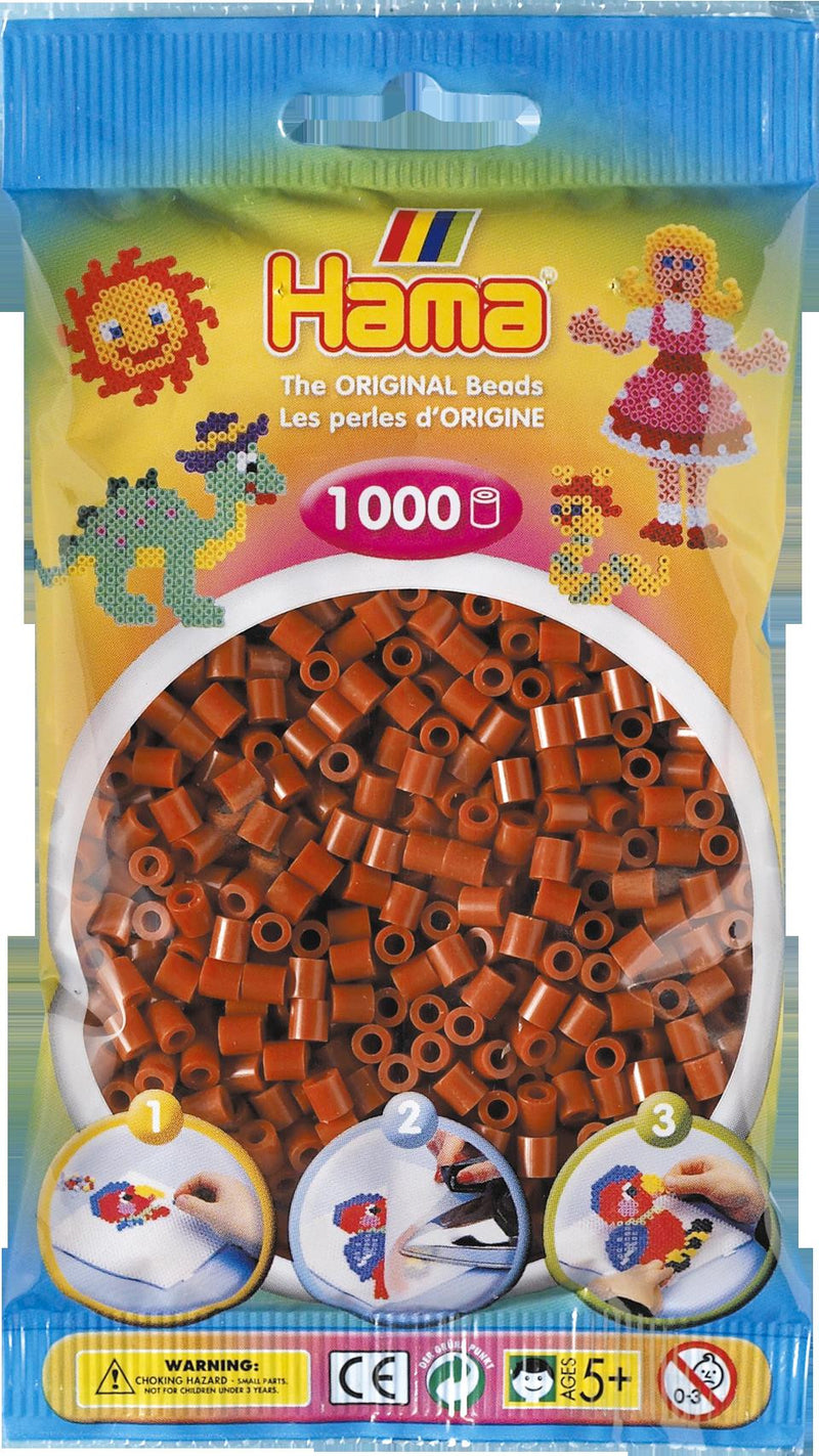 Reddish Brown Hama Beads - 207-20 - 1000 Per Bag (Approx)