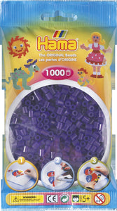 Translucent Purple Hama Beads - 207-24 - 1000 Per Bag (Approx)