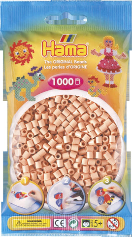 Flesh Hama Beads - 207-26 - 1000 Per Bag (Approx)