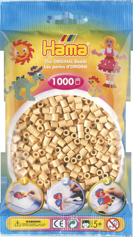 Beige Hama Beads - 207-27 - 1000 Per Bag (Approx)