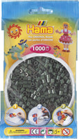 Dark Green Hama Beads - 207-28 - 1000 Per Bag (Approx)