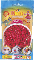 Claret Hama Beads - 207-29 - 1000 Per Bag (Approx)