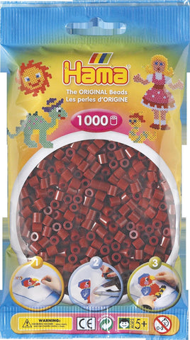 Burgundy Hama Beads - 207-30 - 1000 Per Bag (Approx)