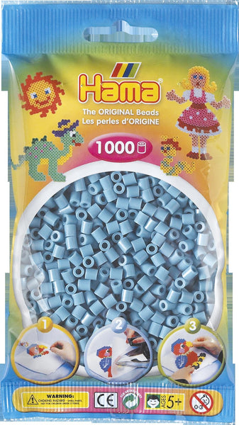 Turquoise Hama Beads - 207-31 - 1000 Per Bag (Approx)
