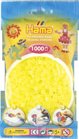 Neon Yellow Hama Beads - 207-34 - 1000 Per Bag (Approx)