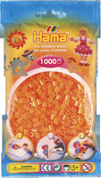 Neon Orange Hama Beads - 207-38 - 1000 Per Bag (Approx)
