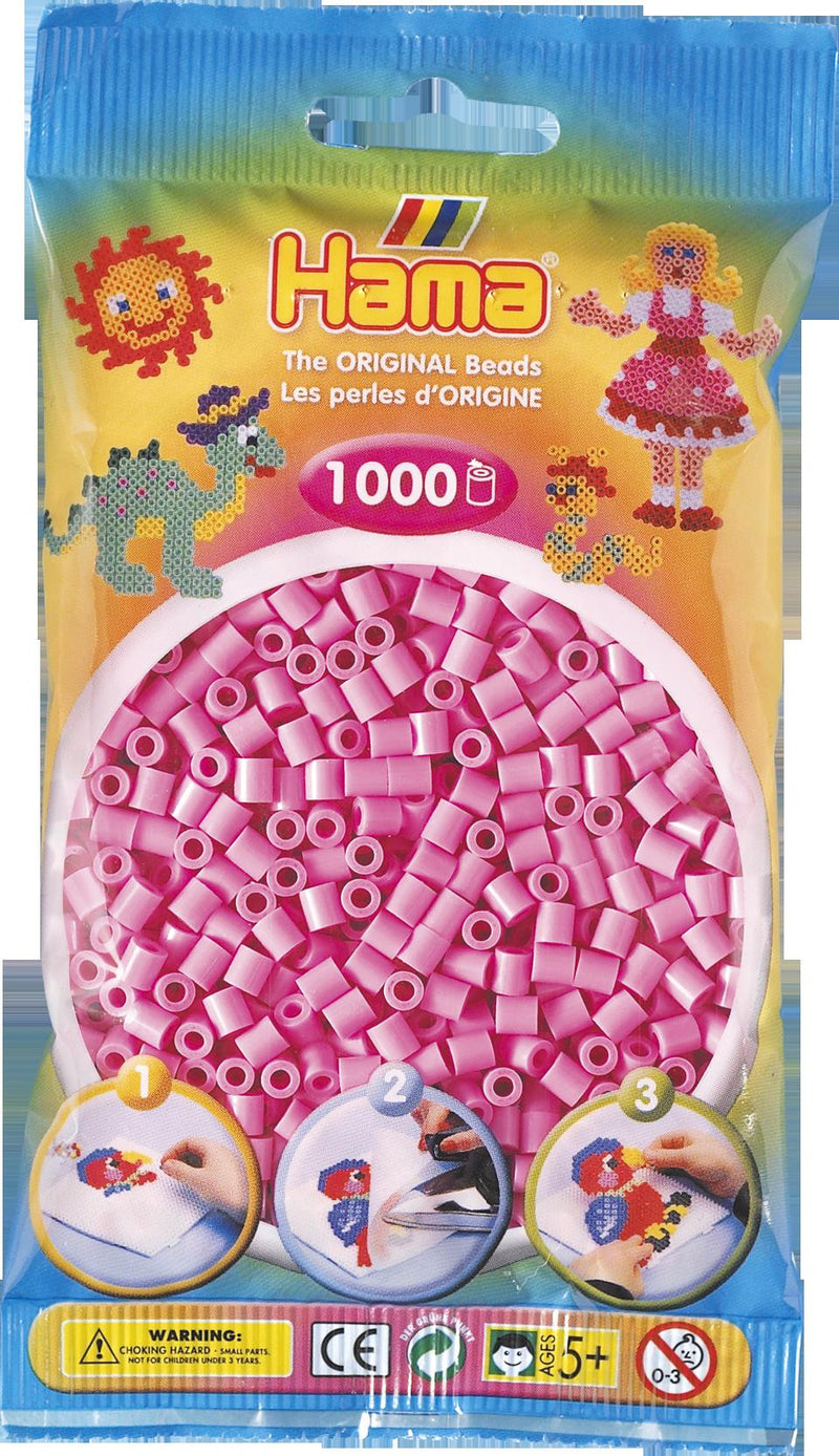 Pastel Pink Hama Beads - 207-48 - 1000 Per Bag (Approx)