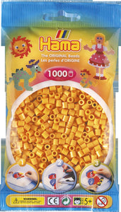 Teddybear Brown Hama Beads - 207-60 - 1000 Per Bag (Approx)