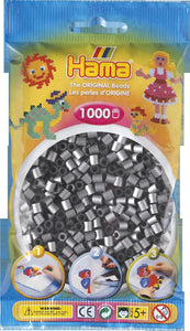 Silver Hama Beads - 207-62 - 1000 Per Bag (Approx)