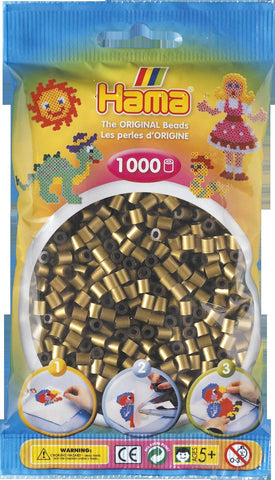 Bronze Hama Beads - 207-63 - 1000 Per Bag (Approx)